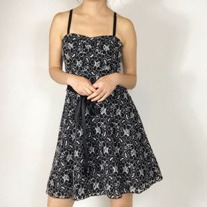 NWT speechless  fit and flare black dress